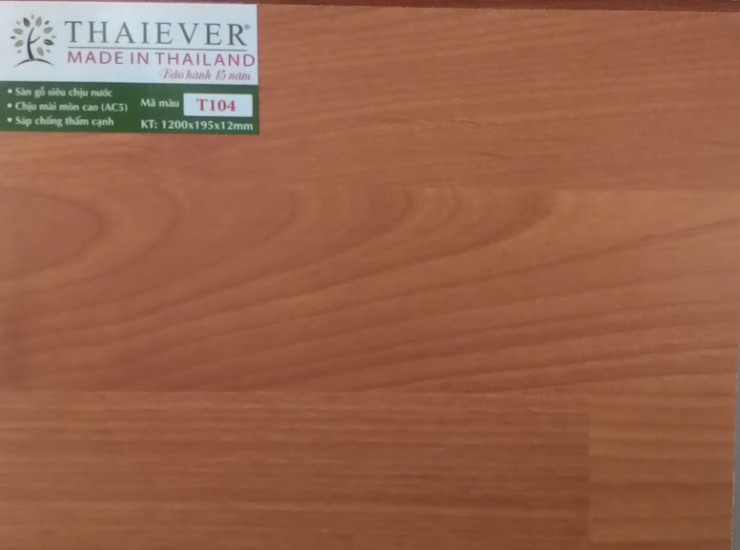 Sàn gỗ ThaiEver T104
